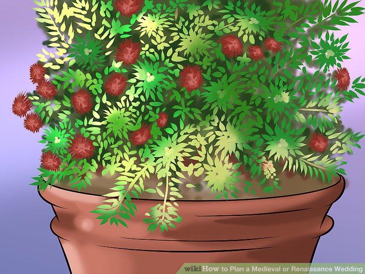 Gehen Sie mit einfachen Blumenarrangements.