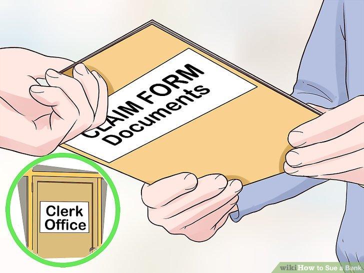 Reichen Sie Ihre Antragsformulare beim Gerichtsschreiber ein.
