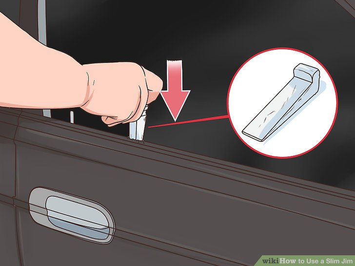 How to Use a Slim Jim 9 Steps with Pictures  wikiHow