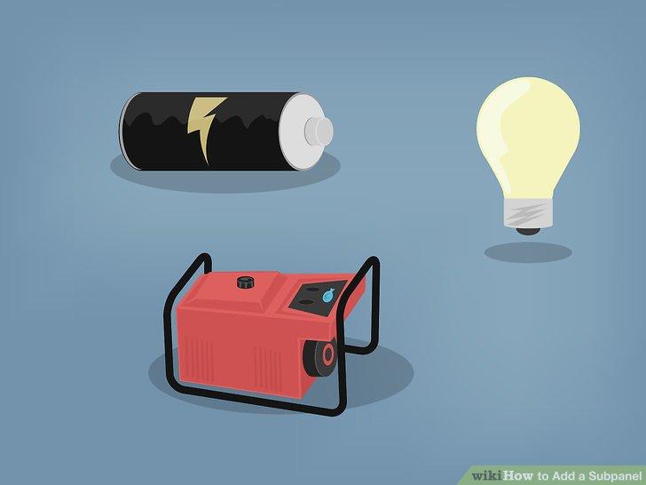 Suchen Sie eine gute Lichtquelle, die von einer Batterie oder einem Generator betrieben werden kann.