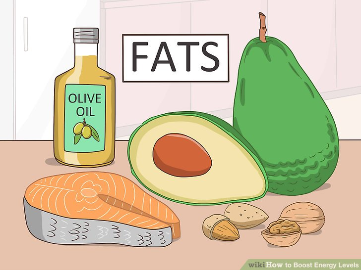 Select good sources of fats.