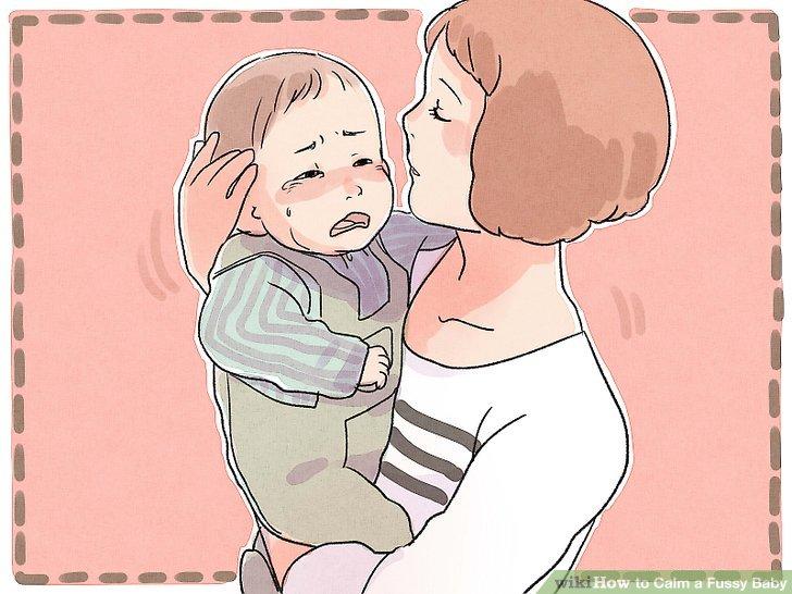 Versuchen Sie, Ihr Baby zum Schweigen zu bringen.