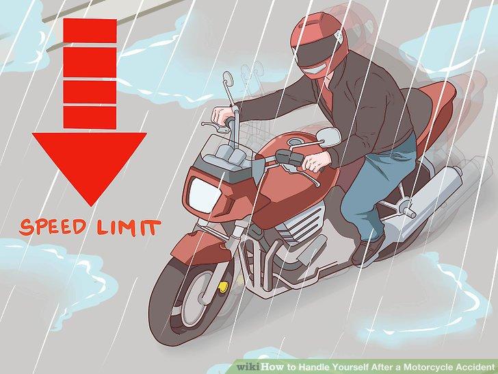 Passen Sie Ihren Fahrstil an die Wetter- / Straßenbedingungen an.