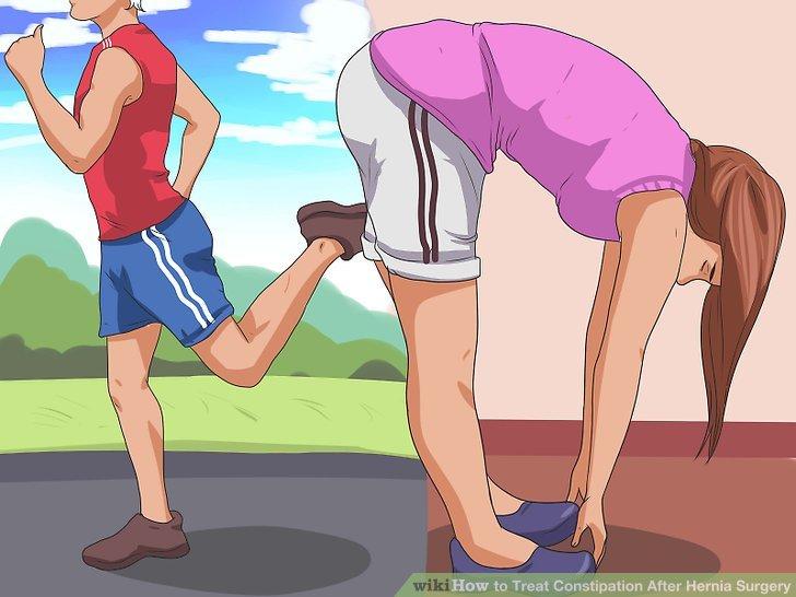 Machen Sie leichte Übungen.