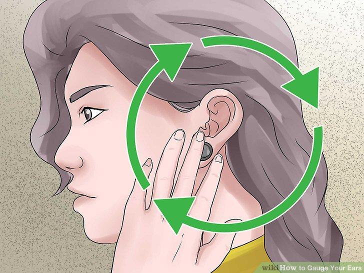 Massieren Sie Ihren Ohrläppchen jeden Tag fünf Minuten lang.