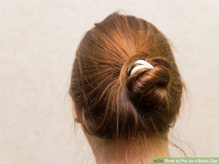 Binde deine Haare zurück.