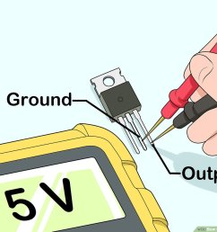 how to test a voltage regulator 12 steps with pictures universal voltage regulator wiring diagram [ 1200 x 900 Pixel ]