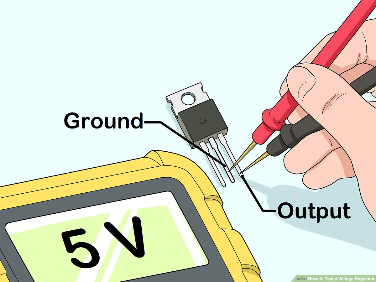 hight resolution of how to test a voltage regulator 12 steps with pictures universal voltage regulator wiring diagram