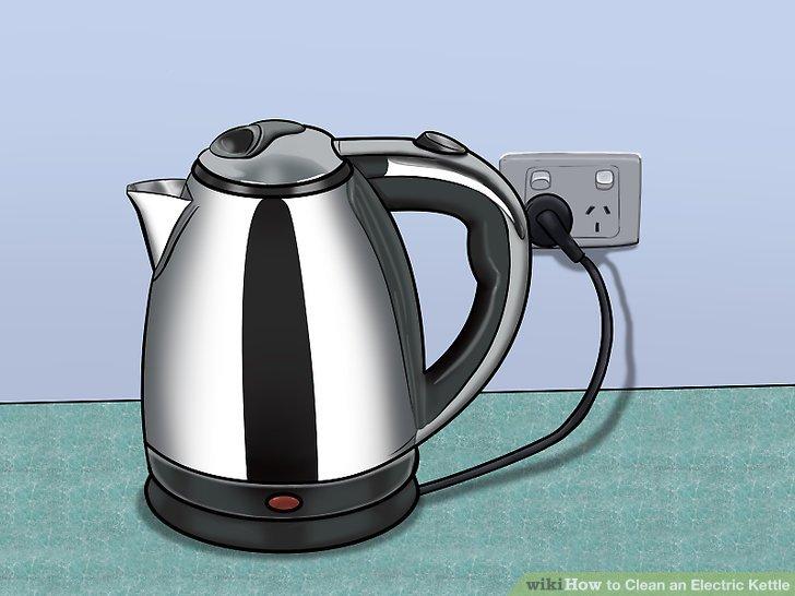 Kochen Sie die Lösung im Wasserkocher.