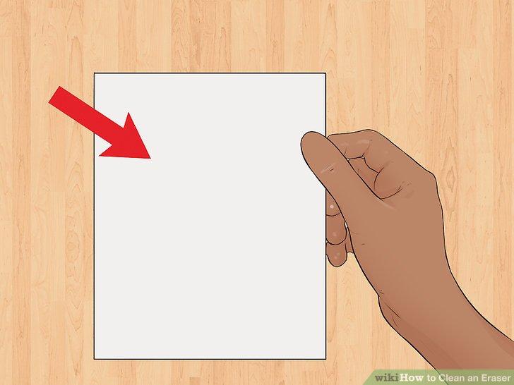 Nehmen Sie ein leeres, sauberes Blatt Papier heraus.