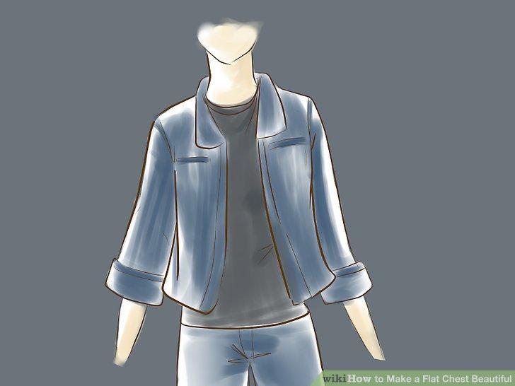 Probieren Sie Kleidung aus, die maskiert wirkt.