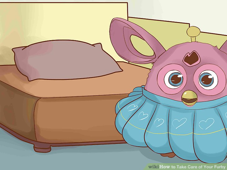 Make your Furby a little home/bed.