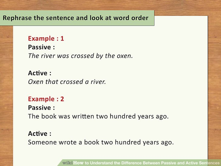 Rephrase the sentence and look at word order.