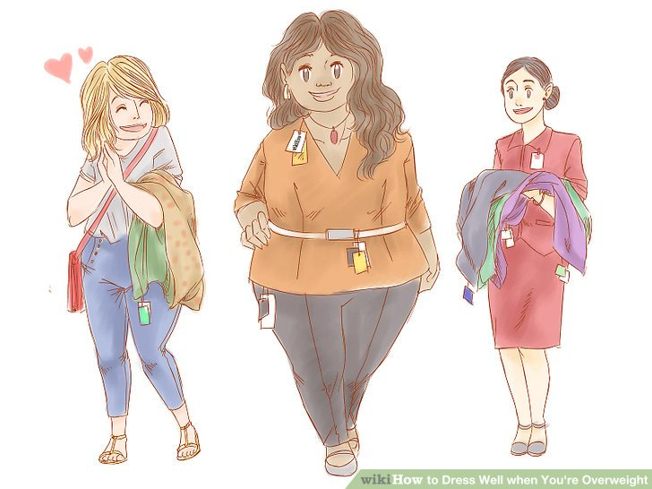 Image titled Dress Well when You're Overweight Step 10