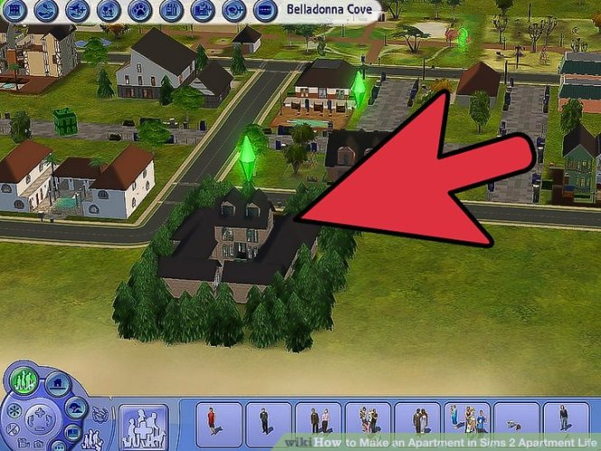 Image Led Make An Apartment In Sims 2 Life Step 1