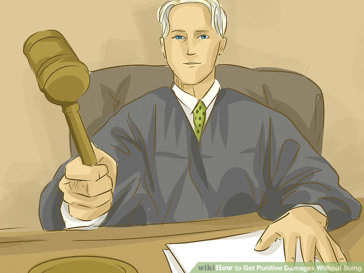 Convince a judge or jury that punitive damages are warranted.