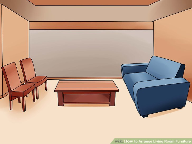4 Ways to Arrange Living Room Furniture  wikiHow