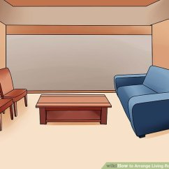 Arrange Living Room Furniture Design Ideas With Leather Sofa 4 Ways To Wikihow Image Titled Step 6