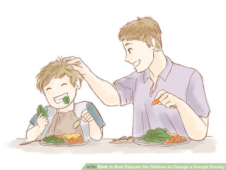 Machen Sie Ihr Kind für die Hausarbeit verantwortlich.