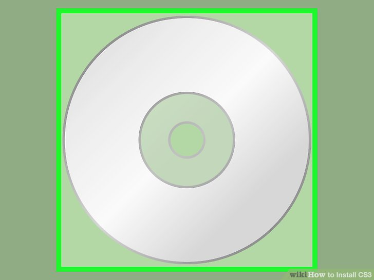 Legen Sie die CS3-CD in Ihr CD-Laufwerk ein.
