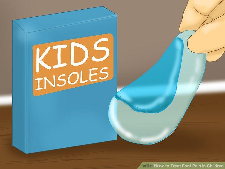 Kaufen Sie Einlagen für die Schuhe Ihres Kindes.
