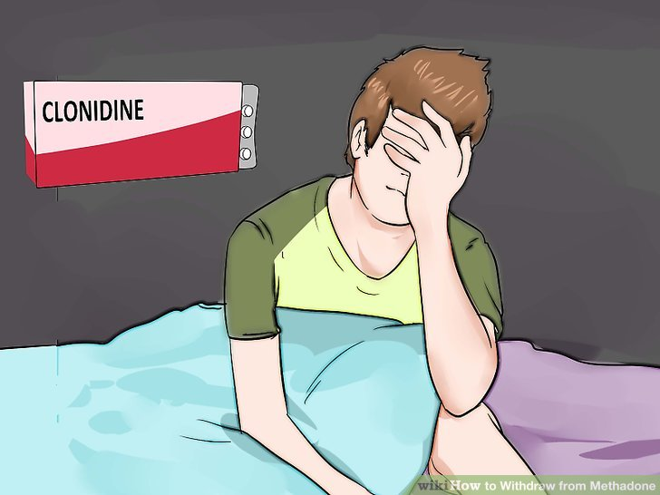 Use clonidine or lofexidine to treat lingering withdrawal symptoms.