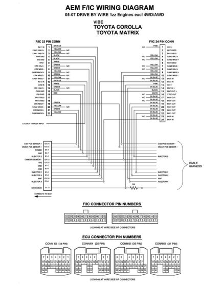 1zz Fe Ecu Wiring Diagram : 25 Wiring Diagram Images