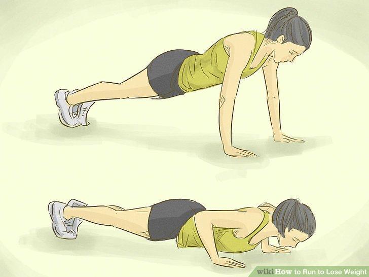 Verwenden Sie Bauchbewegungen für die Gesäßmuskulatur.