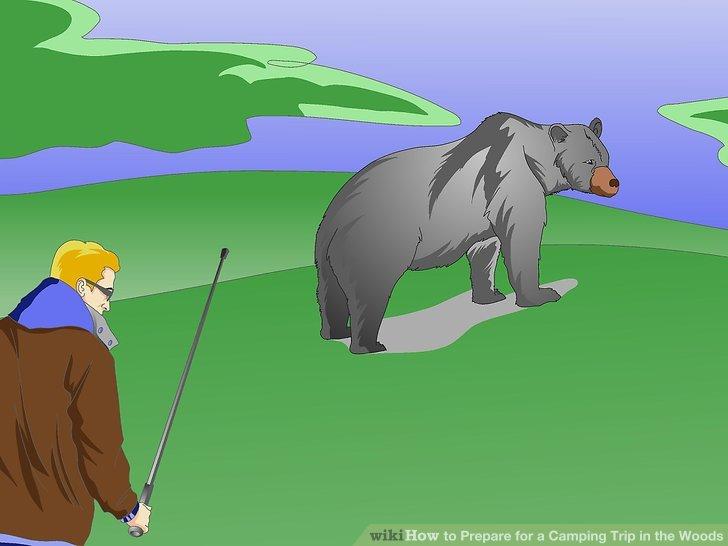 Kennen Sie die Regeln für Bärenbegegnungen.