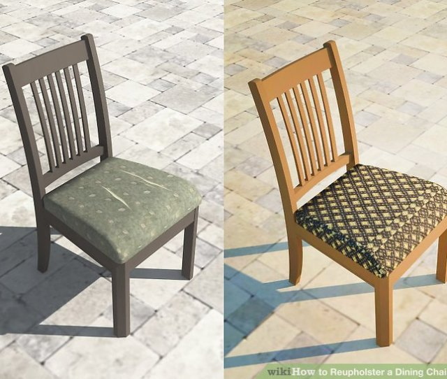 Imageled Reupholster A Dining Chair Seat Intro
