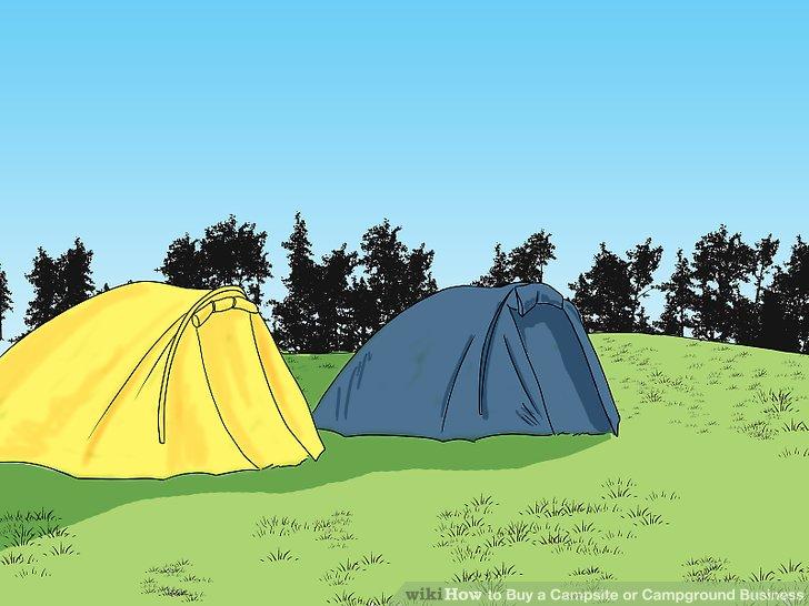 Überlegen Sie, ob es auf dem Gelände, das sich nicht im Besitz des Campingplatzes befindet, halb permanente Unterkünfte gibt.