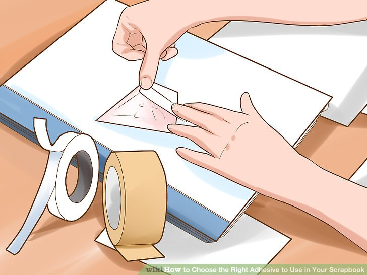 Verwenden Sie Klebeband, um die Montageelemente schnell und einfach zu machen.