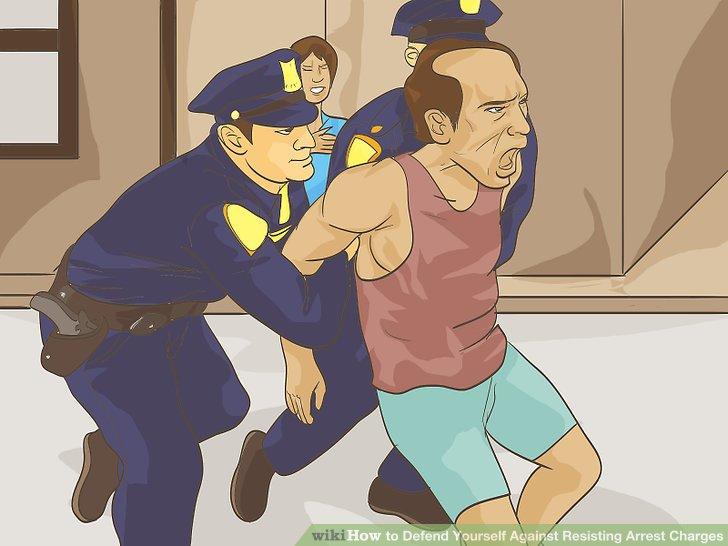 Claim the arrest was unlawful.