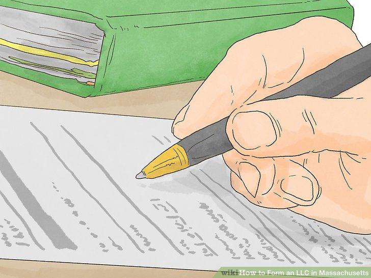 Unterschreiben und unterschreiben Sie das Organisationszertifikat Ihrer LLC.