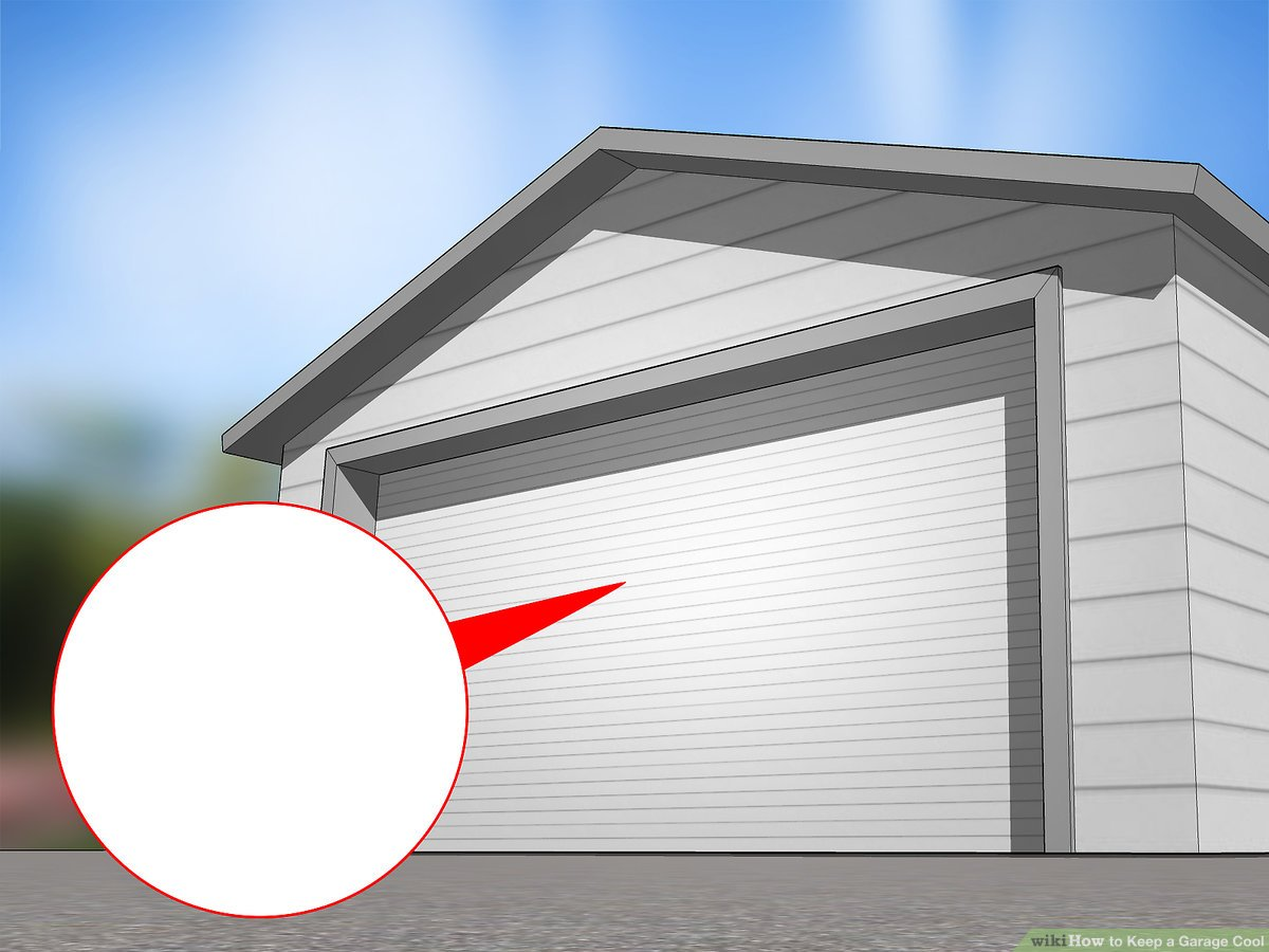 how to keep a garage cool 10 steps
