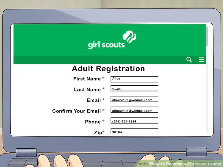 Detail the application with your name, email, number, and zip code.