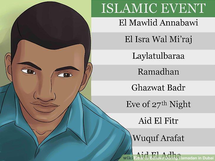 Achten Sie auf andere wichtige Daten im islamischen Kalender.