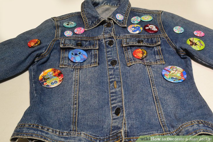 4 Ways to Decorate a Jean Jacket  wikiHow