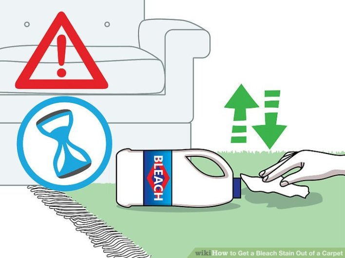 how to get stains out of clothes without bleach