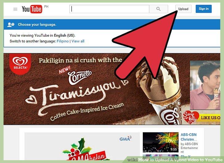 Geben Sie den Titel Ihres Videos ein und fügen Sie eine Beschreibung hinzu, während das Video hochgeladen wird.
