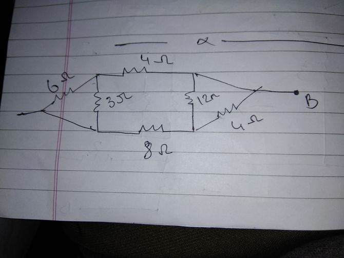 Figure 4 A Series Circuit Left And The Corresponding Circuit