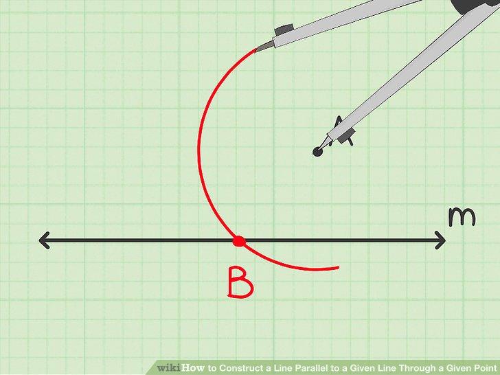 Draw the second vertex of the rhombus.