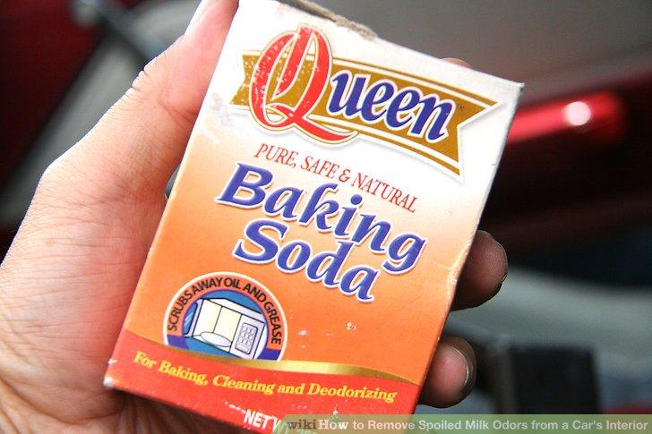 Use the power of baking soda.