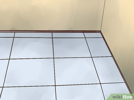 how to tile a bathroom floor with