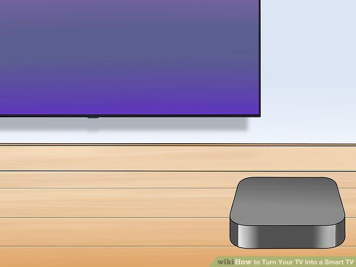 Stellen Sie die Apple TV-Box in die Nähe Ihres Fernsehgeräts.