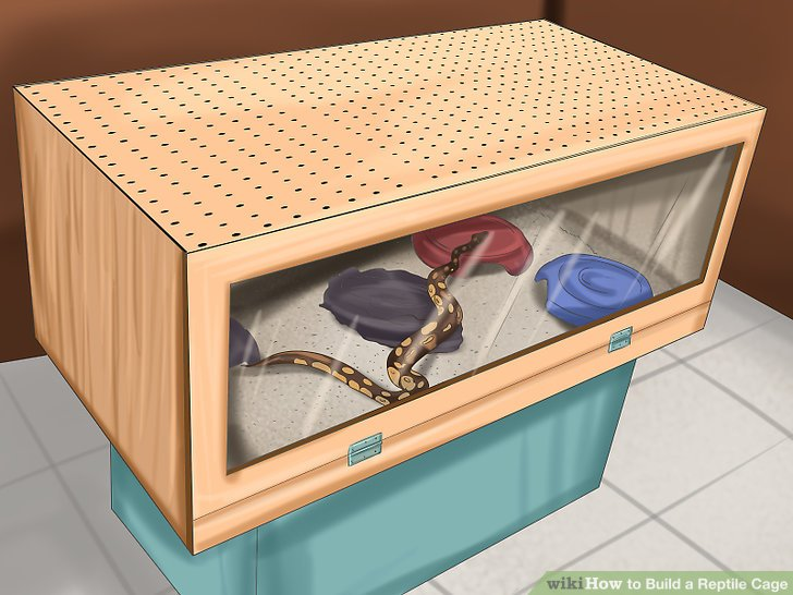 How To Build A Reptile Cage 12 Steps With Pictures