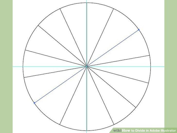 Circle Divided Into 5