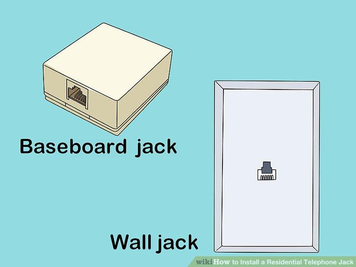 Wall Phone Jack Wiring Diagram On Telephone Wall Jack Plate Wiring