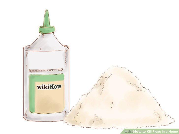 Mix botanical dust with a borate powder or boric acid.