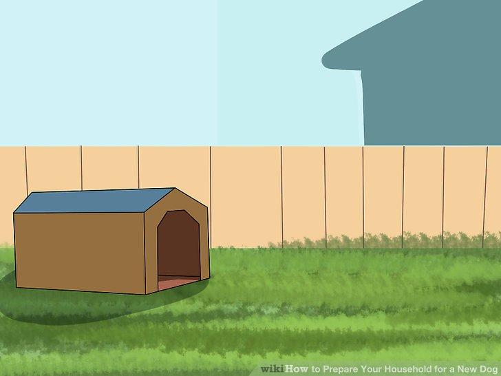 Überlegen Sie, in welchen Bereichen Sie den Hund fernhalten möchten und wie Sie ihn fernhalten möchten.